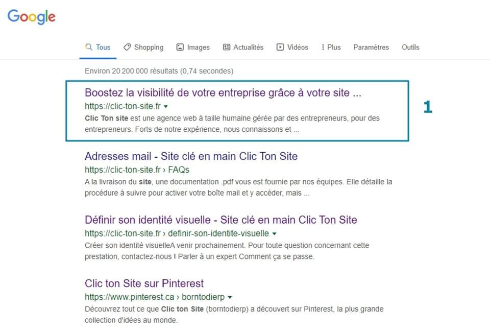 Clic ton site vous accompagne à la conquête de la visibilité de votre entreprise sur Google